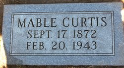 Mable J <i>Marlett</i> Curtis
