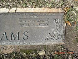 Mattie Lee <i>Atchley</i> Adams