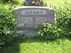 Emma Cora Alice <i>Cummings</i> Adams