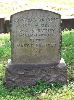Mary C <i>Bulfinch</i> Barrett
