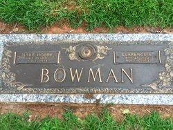 Mary <i>Hobby</i> Bowman