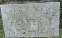 Mary <i>Wade</i> Flaherty