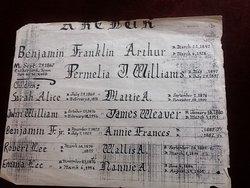 Permelia Jane <i>Williams</i> Arthur