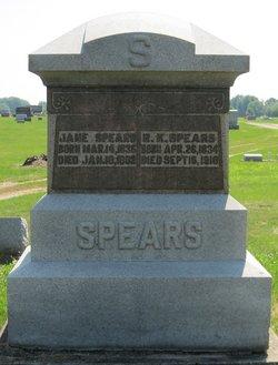 Jane <i>Trotter</i> Spears