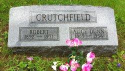 Alice <i>Dunn</i> Crutchfield