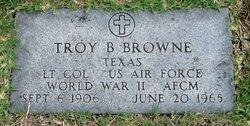 Troy Bloodworth Browne