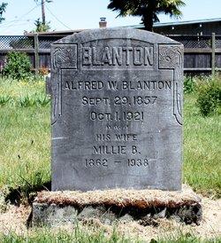 Millie B. <i>Masterson</i> Blanton