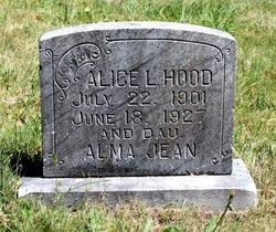 Alice Lee <i>Wesley</i> Hood
