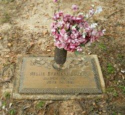 Nellie Esther <i>Ethridge</i> Lovejoy