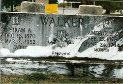 Americus Caroline America <i>Bingham</i> Walker