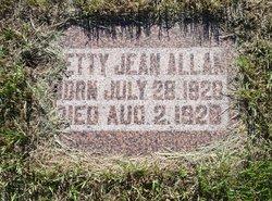 Betty Jean Allan
