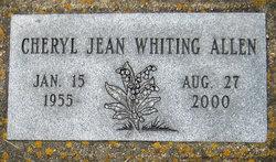 Cheryl Jean <i>Whiting</i> Allen