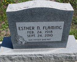 Esther Nora <i>Schmidt</i> Flaming