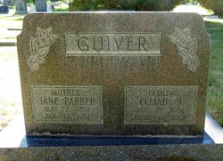 Jane <i>Parker</i> Guiver