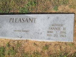Fannie <i>Harrell</i> Pleasant