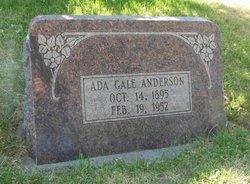 Ada Moore <i>Gale</i> Anderson