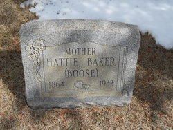 Hattie <i>Boose</i> Baker