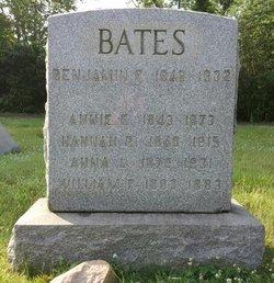 Annie E Bates