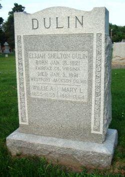 Rev Elijah Shelton Dulin