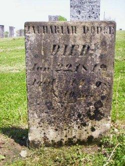 Zachariah Dodge
