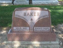 Lillie Mae <i>Culbertson</i> Baker