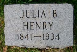 Julia <i>Brown</i> Henry