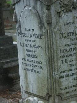 Priscilla Violet <i>Crosher</i> Adams