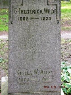 Stella W Allen