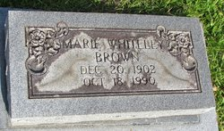 Marie <i>Whiteley</i> Brown