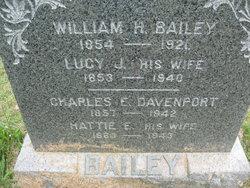 Lucy J <i>Cole</i> Bailey