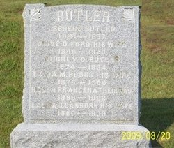 Leila Maude <i>Hobbs</i> Butler