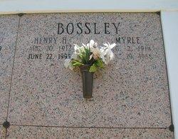 Marie Myrle <i>Fogleman</i> Bossley