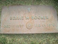 Bessie M Booker