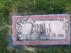 Minnie T <i>Chapman</i> Baldwin