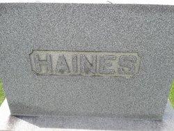 Mahala Catherine <i>Knox</i> Haines