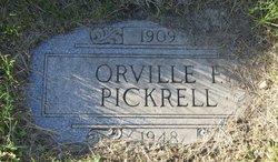 Orville Frederick Bob Pickrell