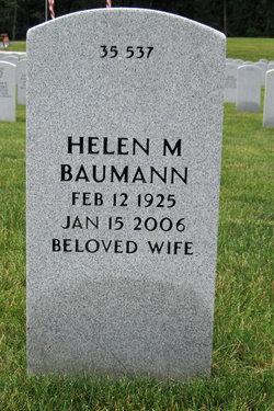 Helen M <i>Fitzsimmons</i> Baumann