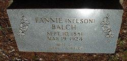 Fannie <i>Nelson</i> Balch