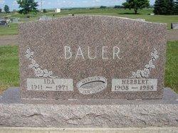 Ida <i>Friesz</i> Bauer