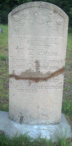 Malinda Mary Ann <i>Blaylock</i> Evans