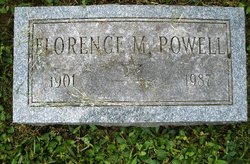 Florence M Powell
