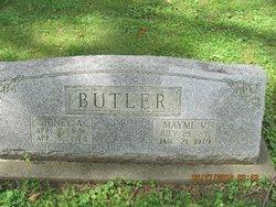 Mayme Viola <i>Crawford</i> Butler