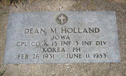 Dean Milton Holland