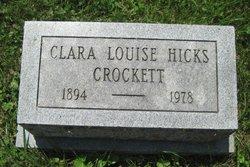 Clara Louise <i>Hicks</i> Crockett