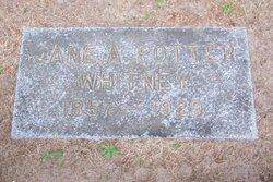 Jane A. <i>Potter</i> Whitney