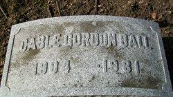 Cable Gordon Ball