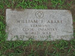 William Francis Abare