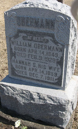 Hannah Friedericke <i>Schaele</i> Oberman