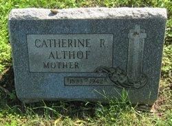 Catherine R. <i>Knabel</i> Althof