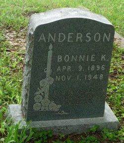 Bonnie K Anderson